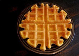 Healthy Vegan Pumpkin Waffle Recipe