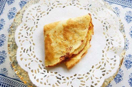 Gluten Free Crepe Recipe DairyFree No Sugar
