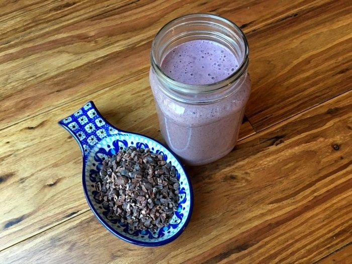 Blueberry Cacao Smoothie Recipe