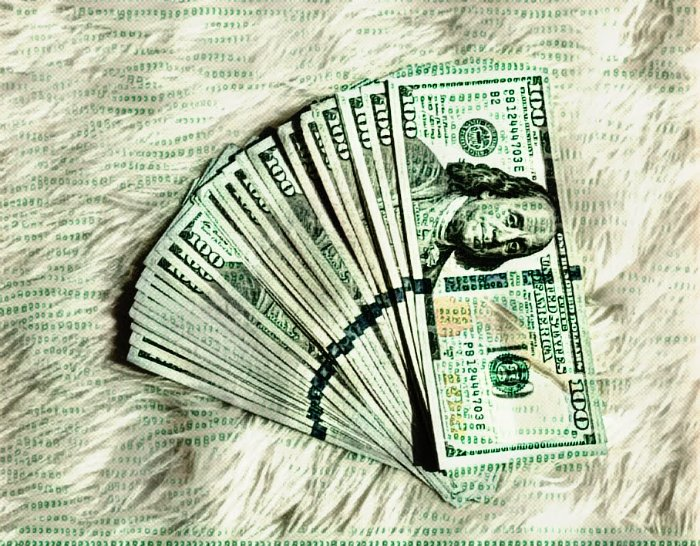 How to Make 100 Dollars Fast and Improve Financial Health: image of cash money